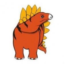 Stegosaurus Magnetic Clip