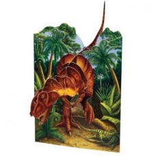 Swinging T-rex Card