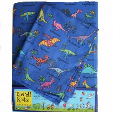 Dinosaur Duvet Set by Tyrrell Katz - Single