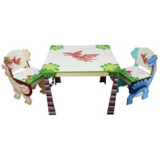 Dinosaur Table and Chairs Set