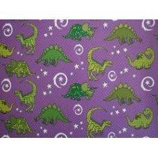 Dinosaur Gift wrap - The Purple One