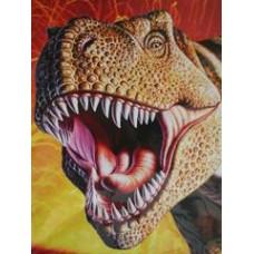 Roaring T-rex Fine ART PRINT