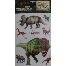 Dinosaur Wall Stickers - Reuseable