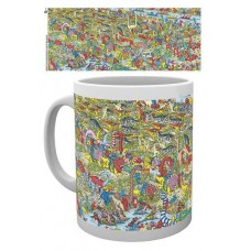 Where's Wally? Dinosaur Mug