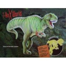 Glow-In-The-Dark T-Rex Sticker