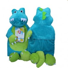 Blue Dinosaur Hotwater Bottle