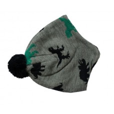 Dinosaur Fleecy Bobble Hat
