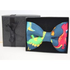 Dinosaur Clip On  Bow Tie - ADULT