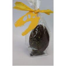 Dark Chocolate Dinosaur Easter Eggs - Vegan