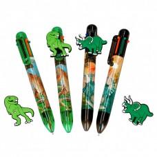 Dinosaur 6 Colour Pen