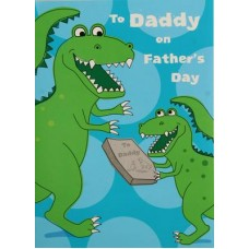 FATHER'S DAY - Dinosaur Card