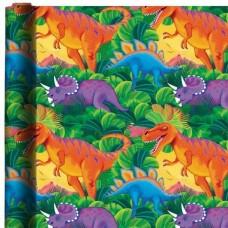Dinosaur Gift Wrap Roll 1.5m