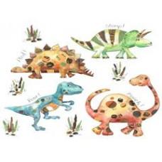 Dinosaur Placemat and Coaster Set