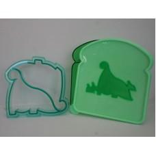 Dinosaur Sandwich Cutter  & Lunchbox Set