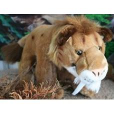Smilodon Cuddly Toy - 40cm