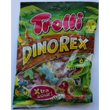 DinoRex Sour Dinosaur Jelly Sweets 200g