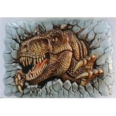 T-rex Roaring Wall Decoration