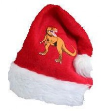 Dinosaur Christmas Hat - Plush
