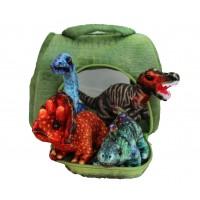 Dinosaur Plush Carry Case